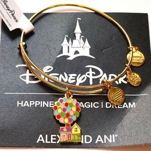 Alex And Ani Disney Up Balloon House Gold Bangle